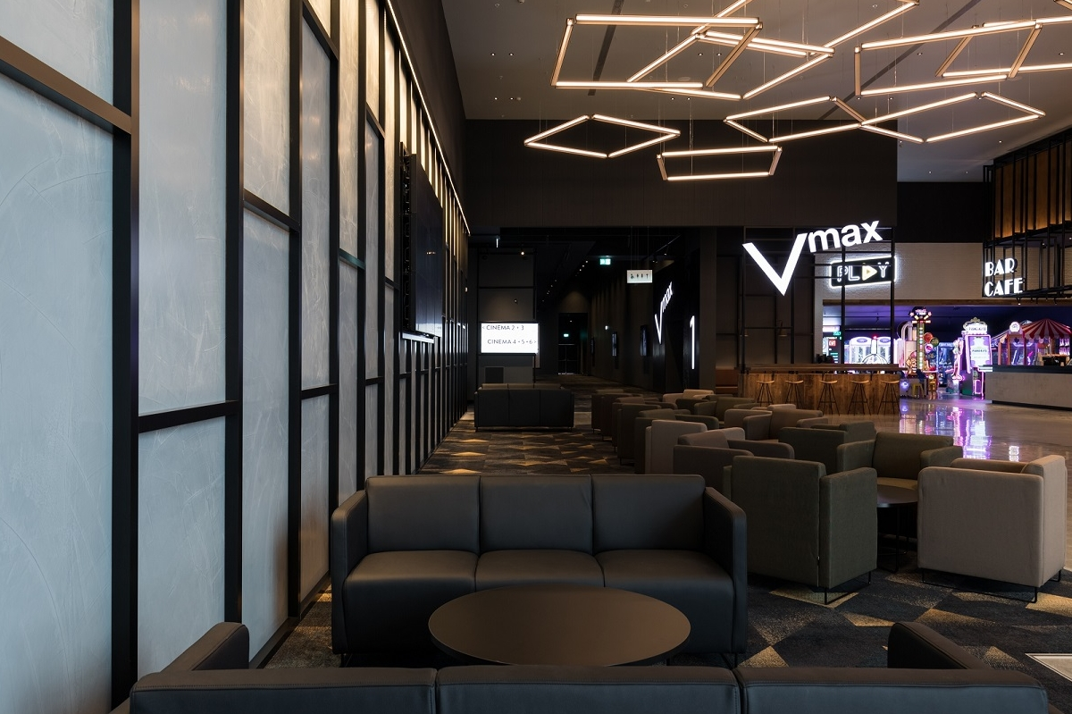 Alaska Construction Interiors - Event Cinemas - Tauranga